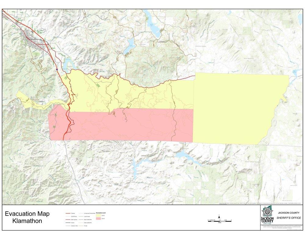 Klamath Falls News Southwest Klamath County Under Level 1
