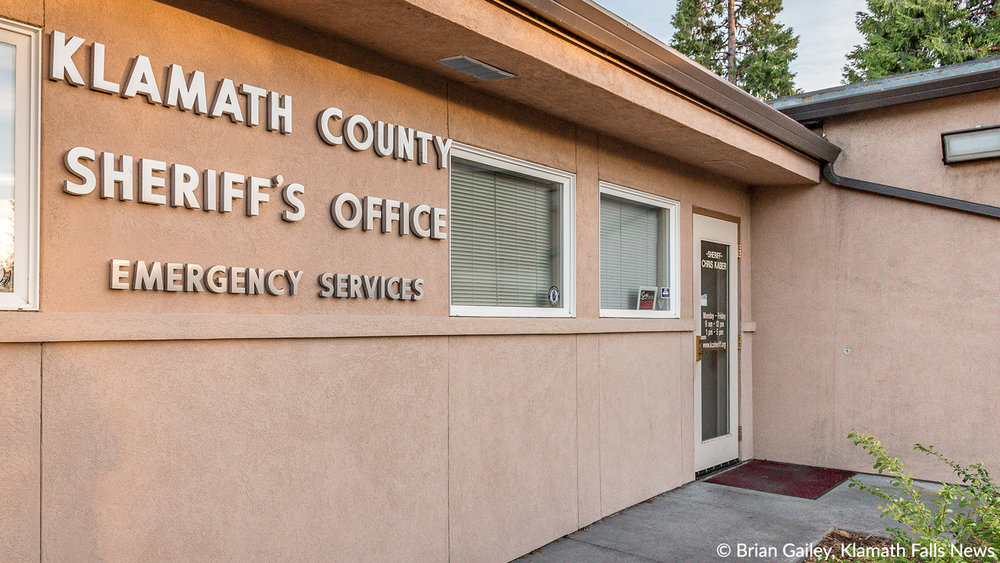 File photo, Klamath County Sheriff's Office.