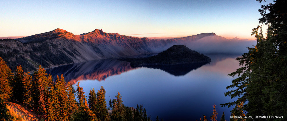 File Photo. Crater Lake National Park. (Brian Gailey)