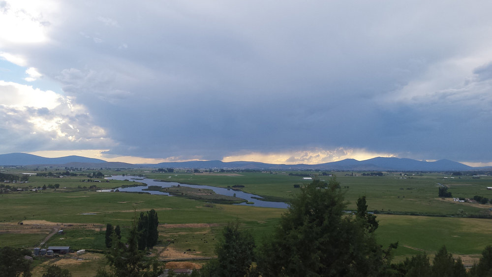 The Lost River flows through Klamath Project farmland on its way to Tule Lake National Wildlife Refuge. (Submitted Photo)