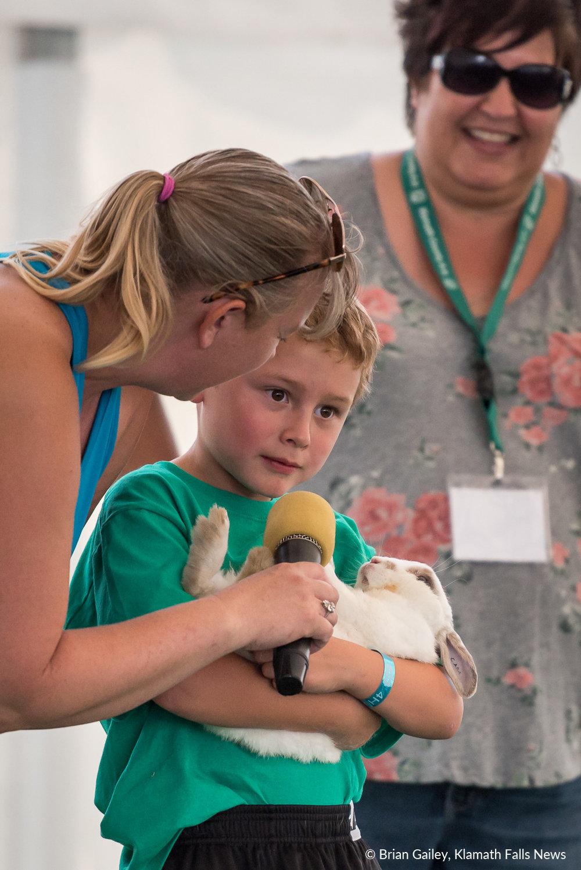 2018 Klamath County Fair. August 2, 2018 (Brian Gailey)