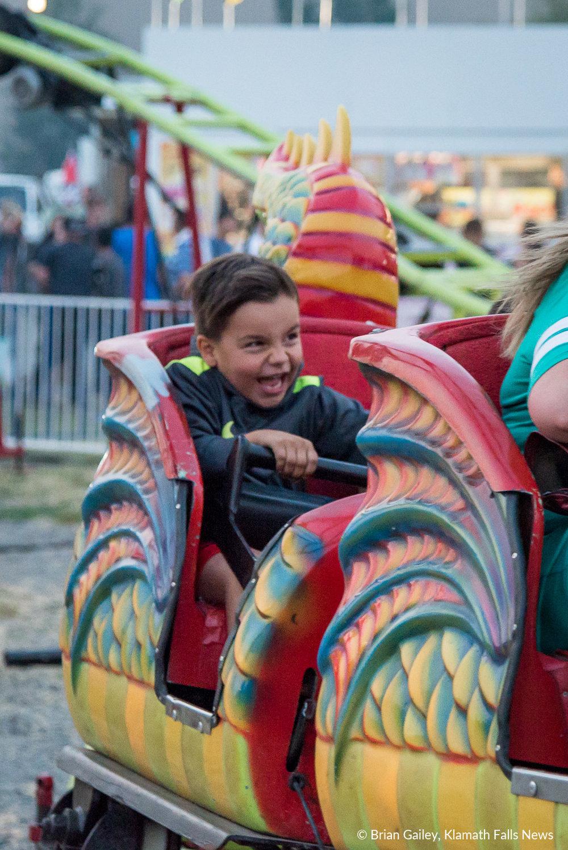 Klamath County Fair. August 3, 2018 (Brian Gailey)