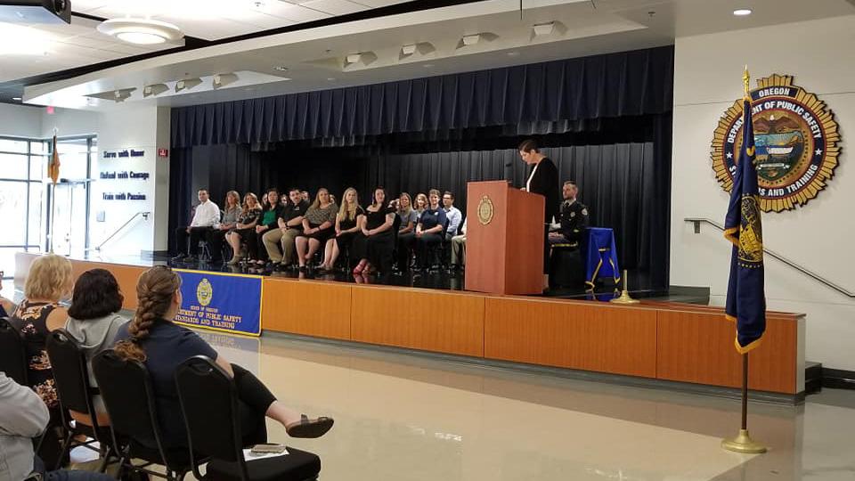 Brakeman Graduates 9-1-1 Operators Training at DPSST — Klamath Falls ...