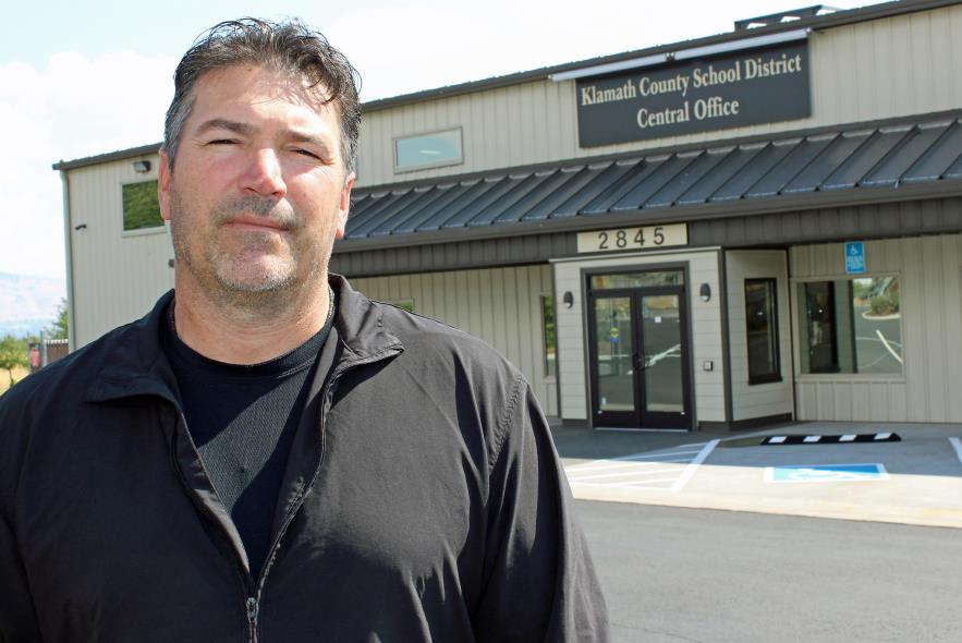 Justin Azevedo, maintenance supervisor and project manager for the Klamath County School District, has announced plans to leave his position and move from the area to pursue new opportunities. His last day is Nov. 2.