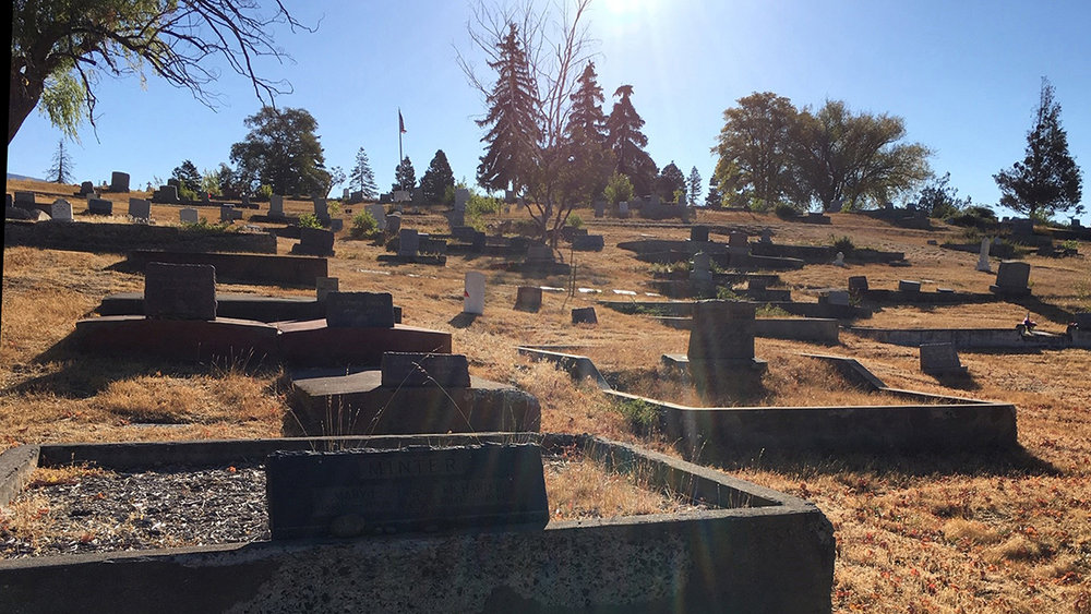 "Linkville Pioneer Cemetery in Klamath Falls will be the setting for the 12th annual production of ""Night at the Cemetery"" by the Klamath County Museum."
