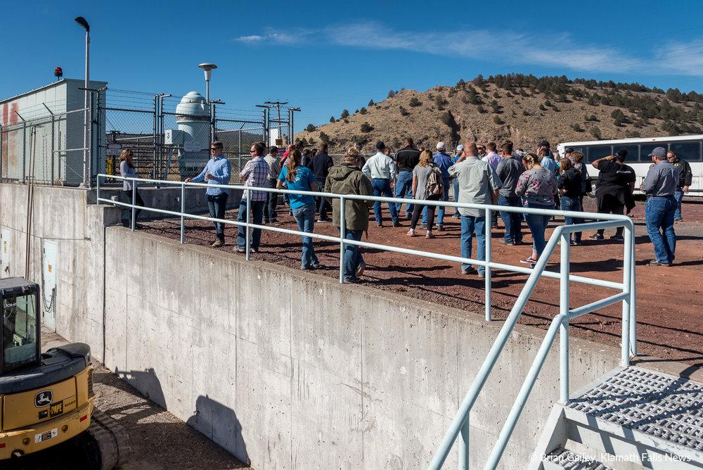 2018 Klamath Water Users Association Fall Harvest Tour. September 27, 2018 (Brian Gailey)