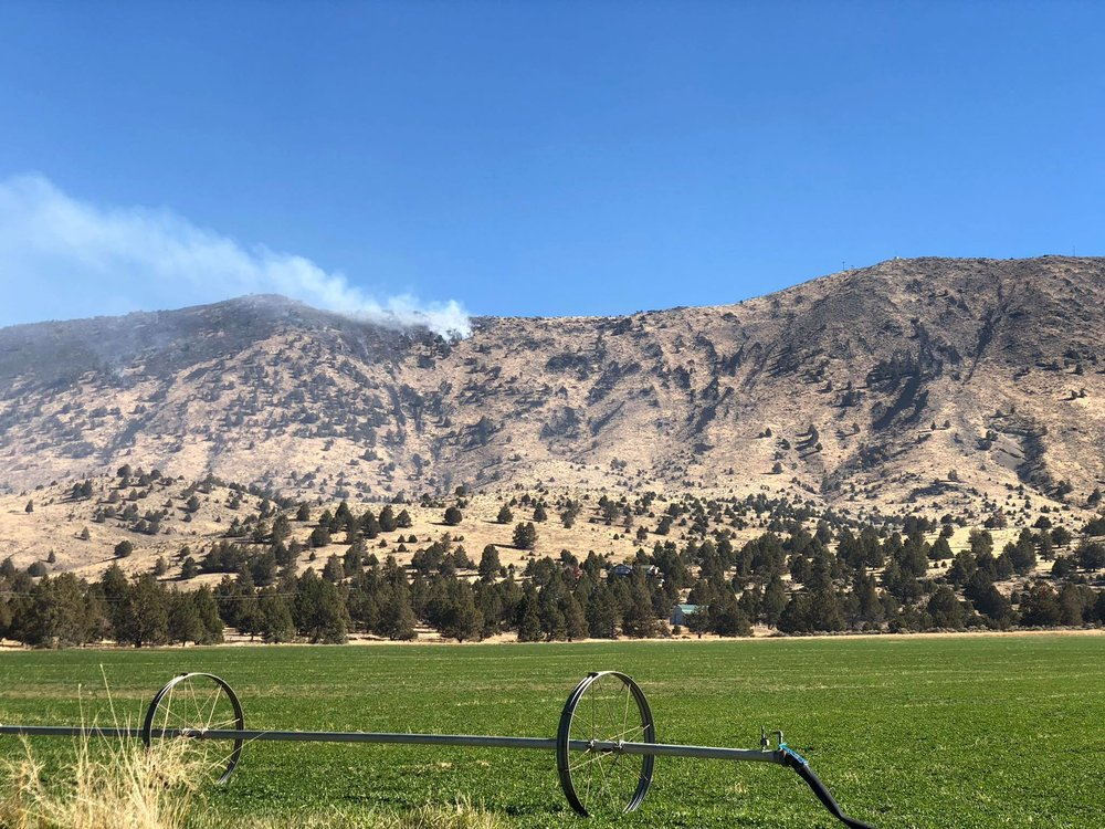 Stukel Fire, Monday, October 15, 2018 (Brian Gailey)