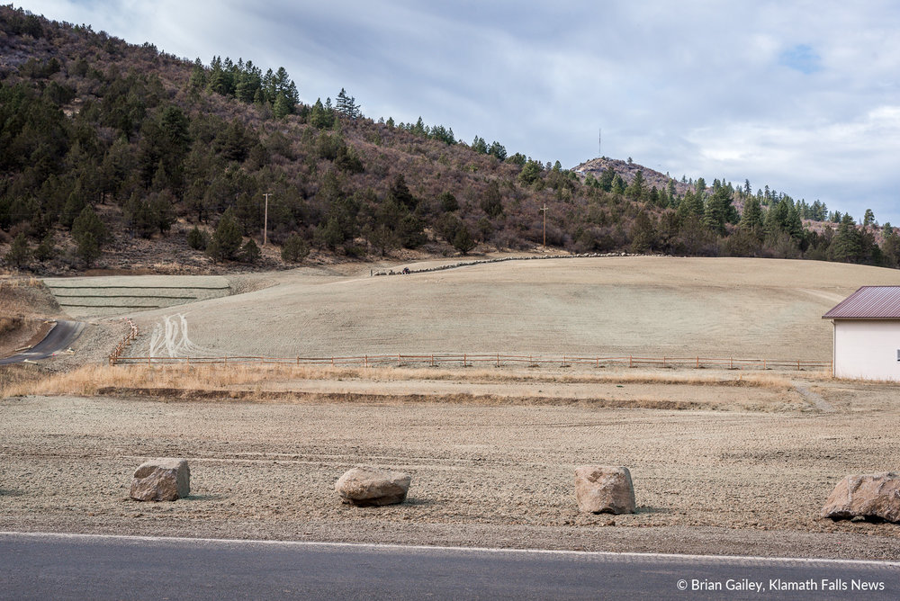 North Ridge Estates EPA Superfund cleanup site, Klamath Falls, Ore. October 23, 2018 (Brian Gailey)