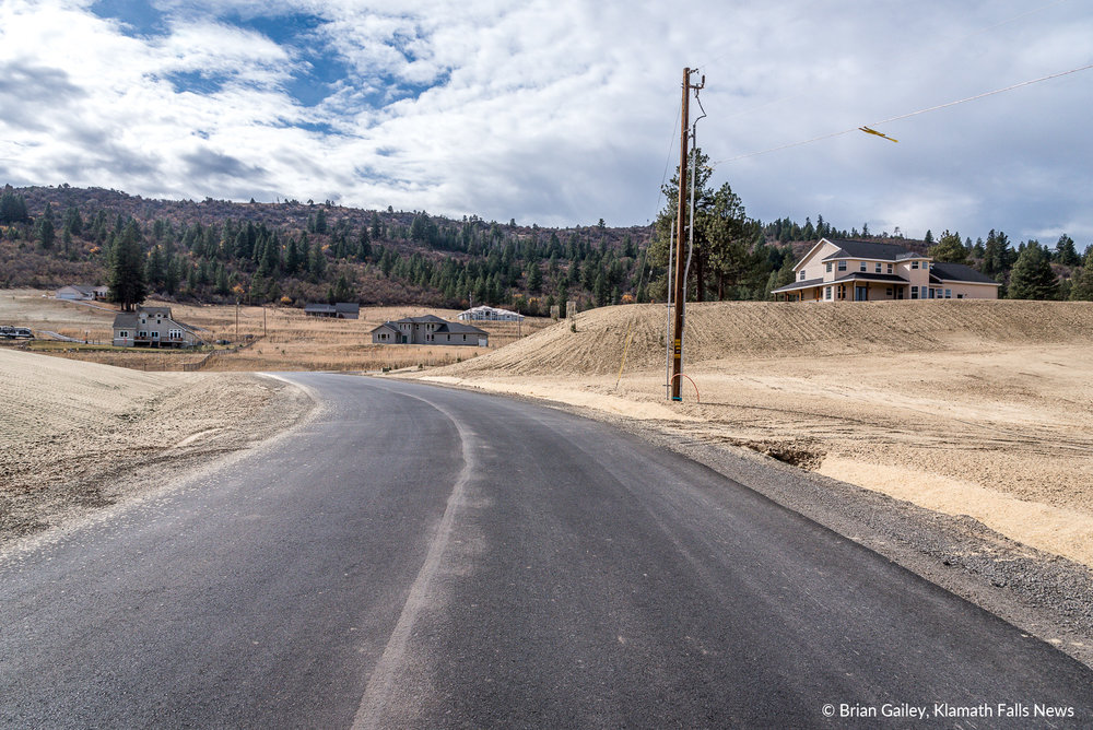 In addition to the cleanup, new streets, underground utilities and landscape seeding has been accomplished in the restoration of the community. October 23, 2018 (Brian Gailey)