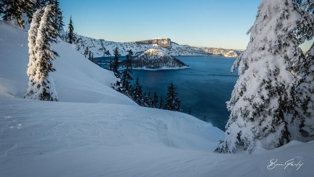 Winter at Crater Lake National Park, Oregon. (File Photo, Brian Gailey)