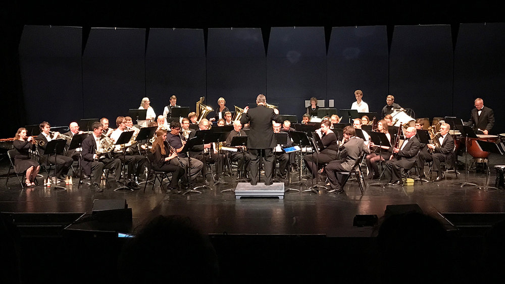 Klamath Falls Community Band performs at the Ross Ragland Theater (Submitted Photo)