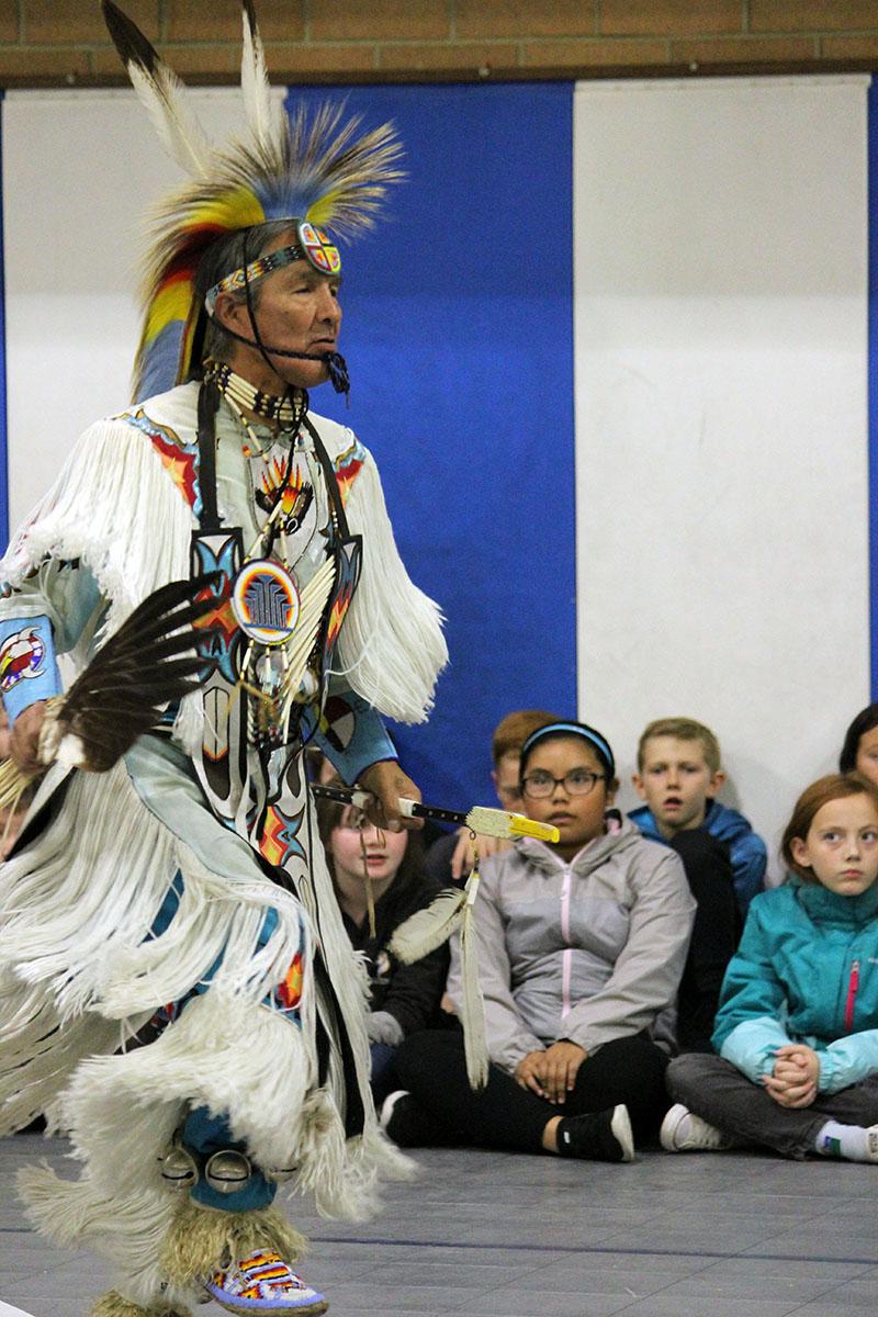 Aaron Wright, Klamath Tribal member.