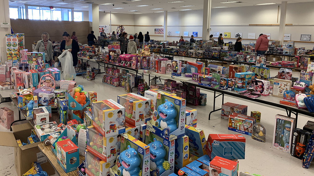 Thanks to sponsors and donors, Toys for Tots of Klamath Falls is able to help over 3,000 children this Christmas. December 21, 2018. (Brian Gailey)