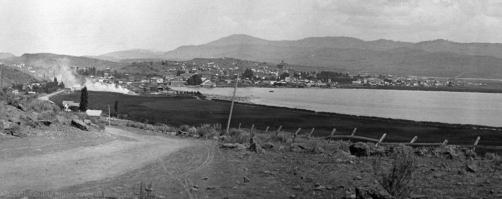View of Klamath Falls c. 1908. (Klamath County Museum)