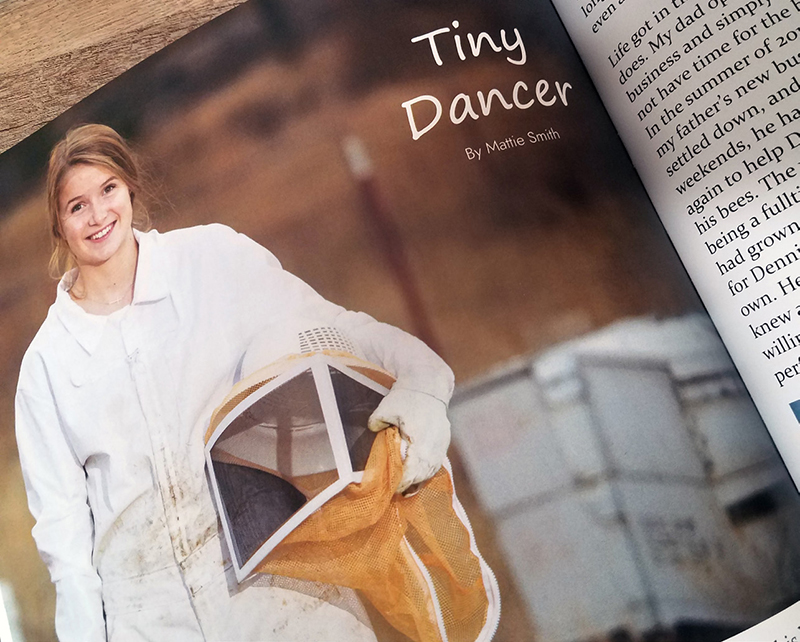 One of 10 feature articles in the magazine was written by Henley senior Mattie Smith.