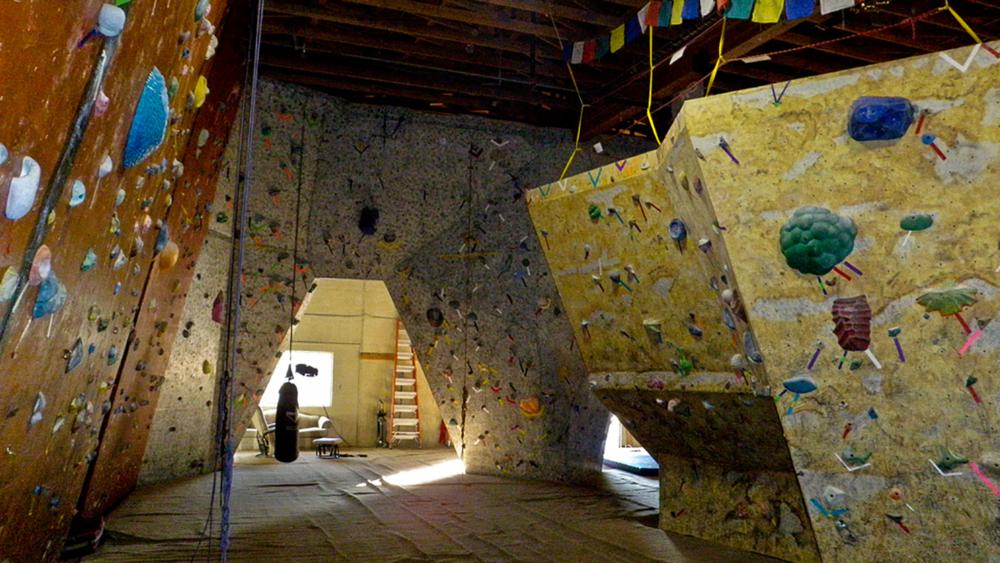 Yeti's Lair Climbing Gym.  Flickr, Michael McCullough