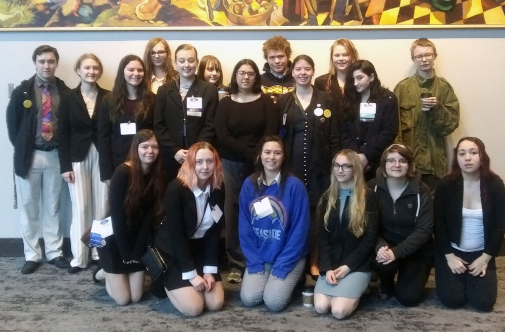 Gilchrist FBLA. Submitted photo