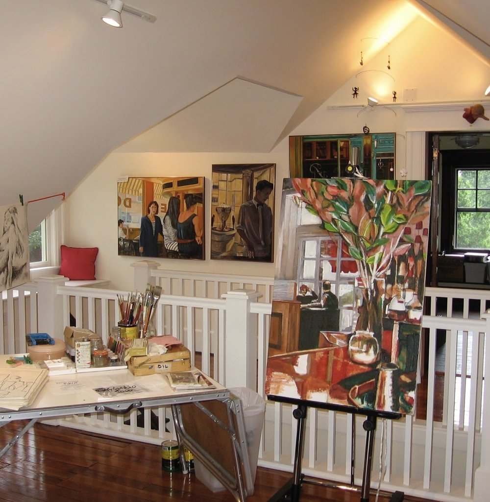 studio tour of south orange & Maplewood      (Home Studio)  -