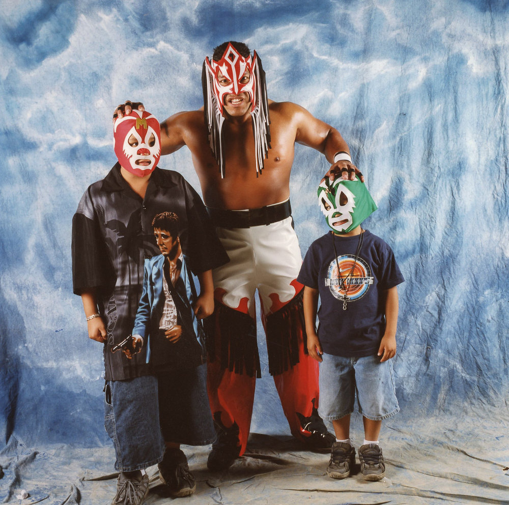 Luchador and sons