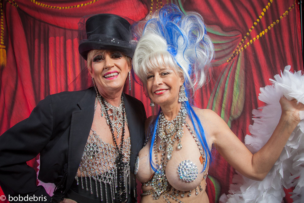 Gypsy Louise and Rudalenska  BHOF 2013