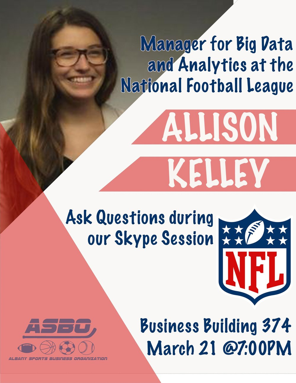 Allison Kelley from the NFL