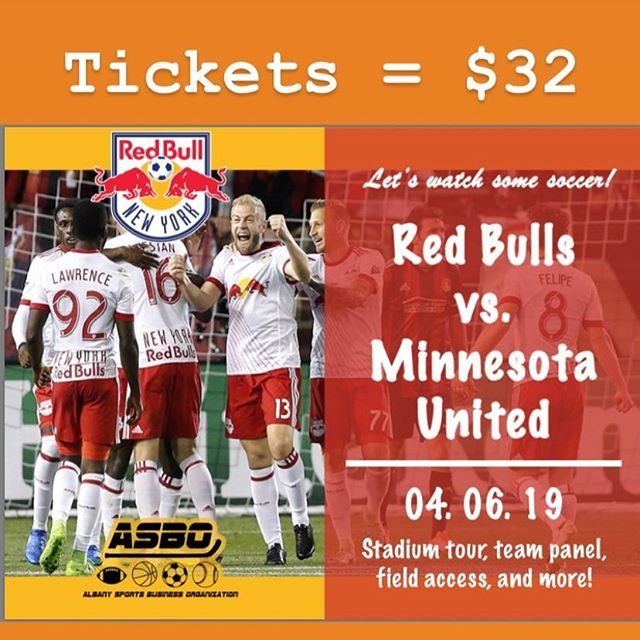 Looking for something new and exciting to do? Join us on Saturday, April 6th as we take in a New York Red Bull's game.  While there we will have opportunity to: Stadium Tour 🏟 Field Access 🔑 Front Office Panel 🎤 Field Level Seats💺 Round Trip Coach Bus from Collins Circle 🚌  Tickets are $32 and space is limited! If Interested DM us or sign up at: UAlbanyASBO.com/Events