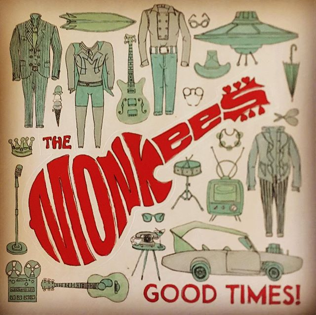 This #monday is for the #monkees ! What do you think about this sticker set from Warner Music Group? . . . . . . #merch #music #musiclabel #recordlabel #collection #vinyl #artist #musician #goodtimes #warnermusicgroup #wmg #album #vintage #decor #madarchives #motivation #recordcollection #concert
