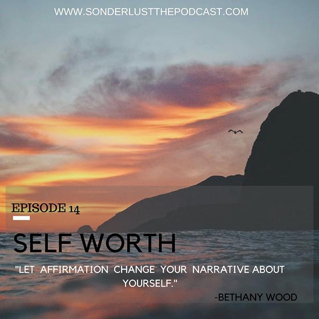 Sonderlust the Podcast's newest episode will drop THIS THURSDAY! As Sarah's health coach gave her homework on affirmation and self affirmation, Sarah sits down with two of her closest friends at a wedding to hear about how they are able to maintain self worth in a world full of critique. # selfworth #friendship #podcast #sonderlust #identity #purpose #52weekchallenge
