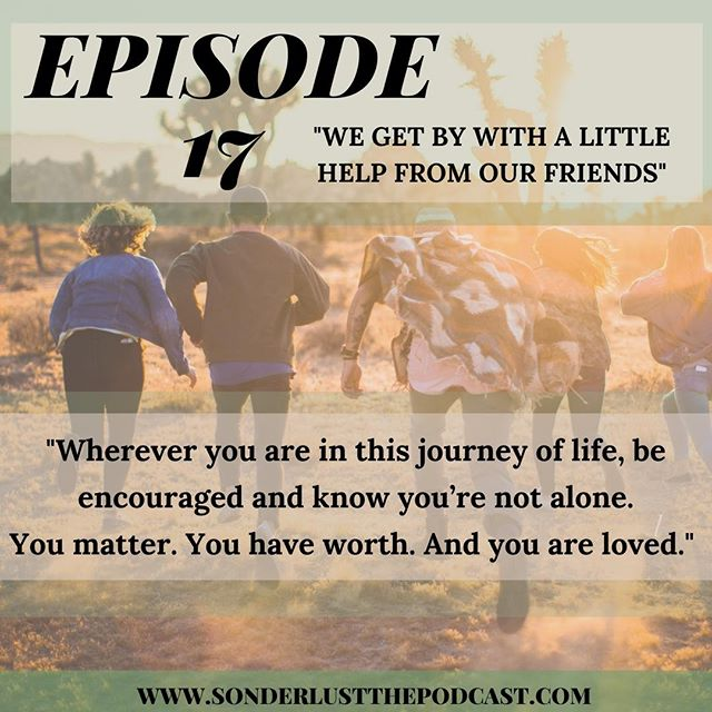 EPISODE 17 IS NOW OUT !!! Sarah sits down with two of her good friends to gain wisdom about what it looks like to maintain a sense of worth, when everything in our culture is fighting against that very idea. Also, our favorite life coach, John is back on the podcast to drop some advice and encouragement for Sarah as she processes through some upcoming life changes. Friends, thank you so much for your continual support of Sonderlust The Podcast. We have just under an hour left for our kickstarter and we're excited to announce that we have surpassed our support goal (109%!!) #52weekchallenge #Worth #Purpose #Support #Identity #findingyourbliss
