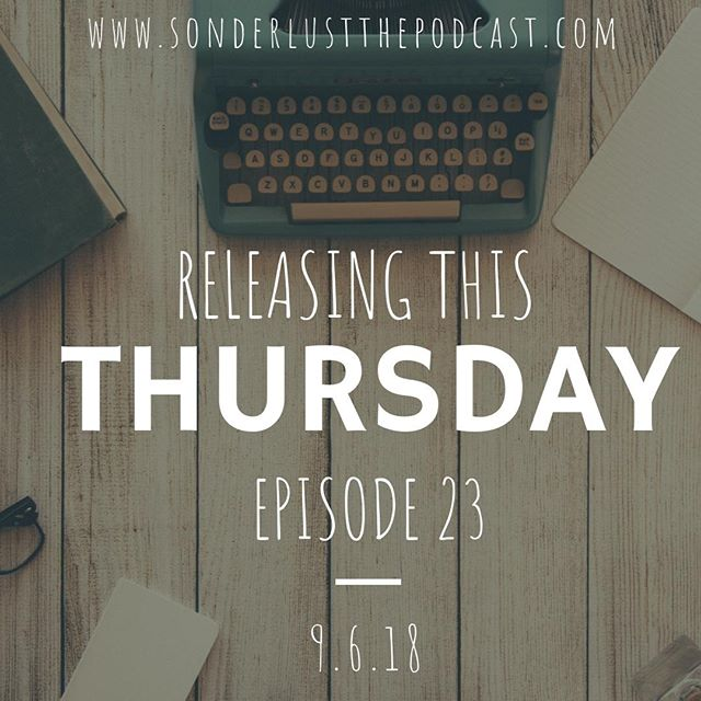 ***UPDATE*** Due to food sometimes being the worst and Sarah ending up with food poisoning this past week, Episode 23 of Sonderlust The Podcast will release THIS THURSDAY instead of today. Be sure to listen in on Thursday and thank you all for your continual support during this journey! #LoveFood #HateBeingSick #Sonderlust