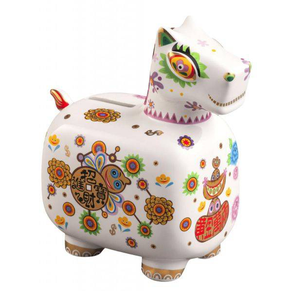 洪易 HUNG Yi〈小白馬撲滿 Year of the Horse-White Piggy Bank〉