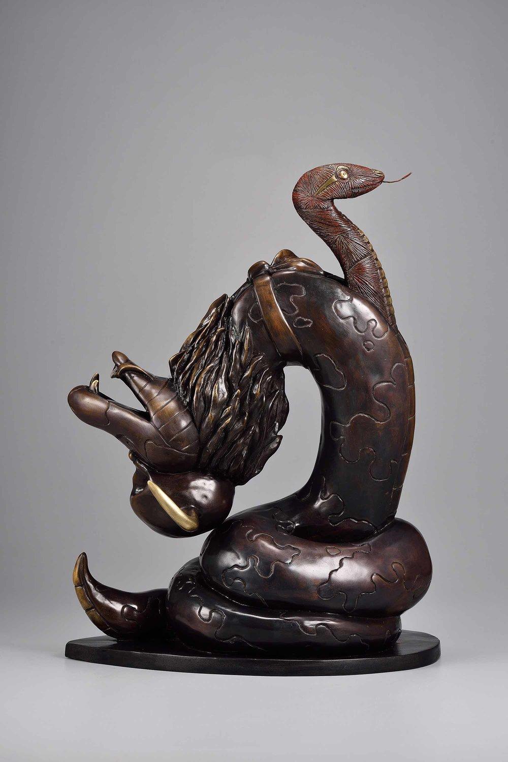 劉哲榮 LIU Je-Rong〈Cosplay-Snake〉(正面 Front)