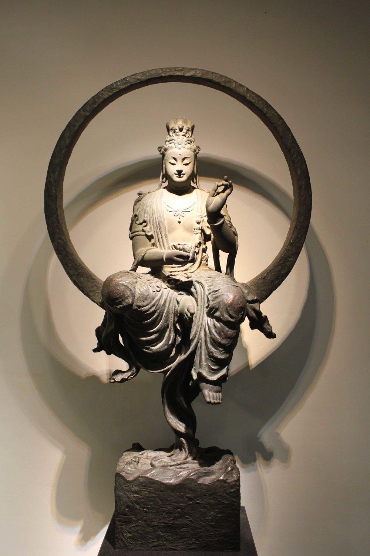 李真 LI Chen〈水月觀音 Water-Moon Avalokitesvara〉