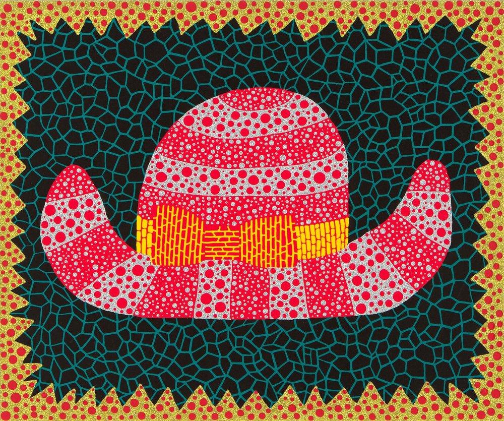 草間彌生 Yayoi KUSAMA〈No.284 帽子 Hat (I)〉