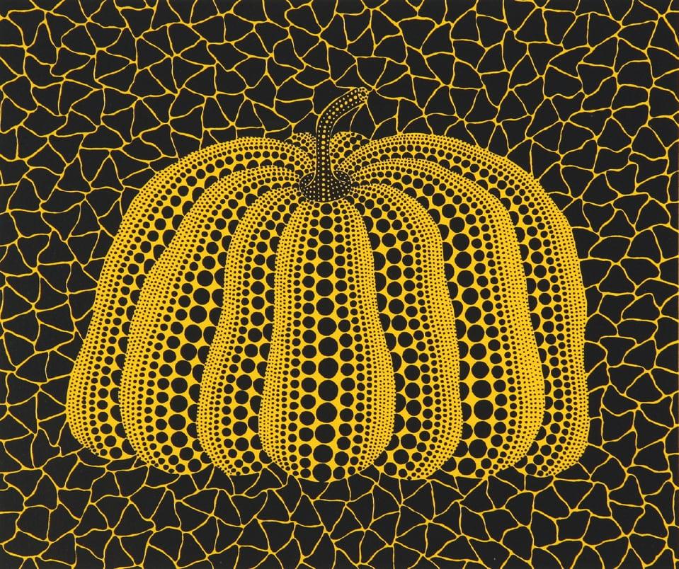 草間彌生 Yayoi KUSAMA〈No.327 南瓜 A Pumpkin YB-B〉