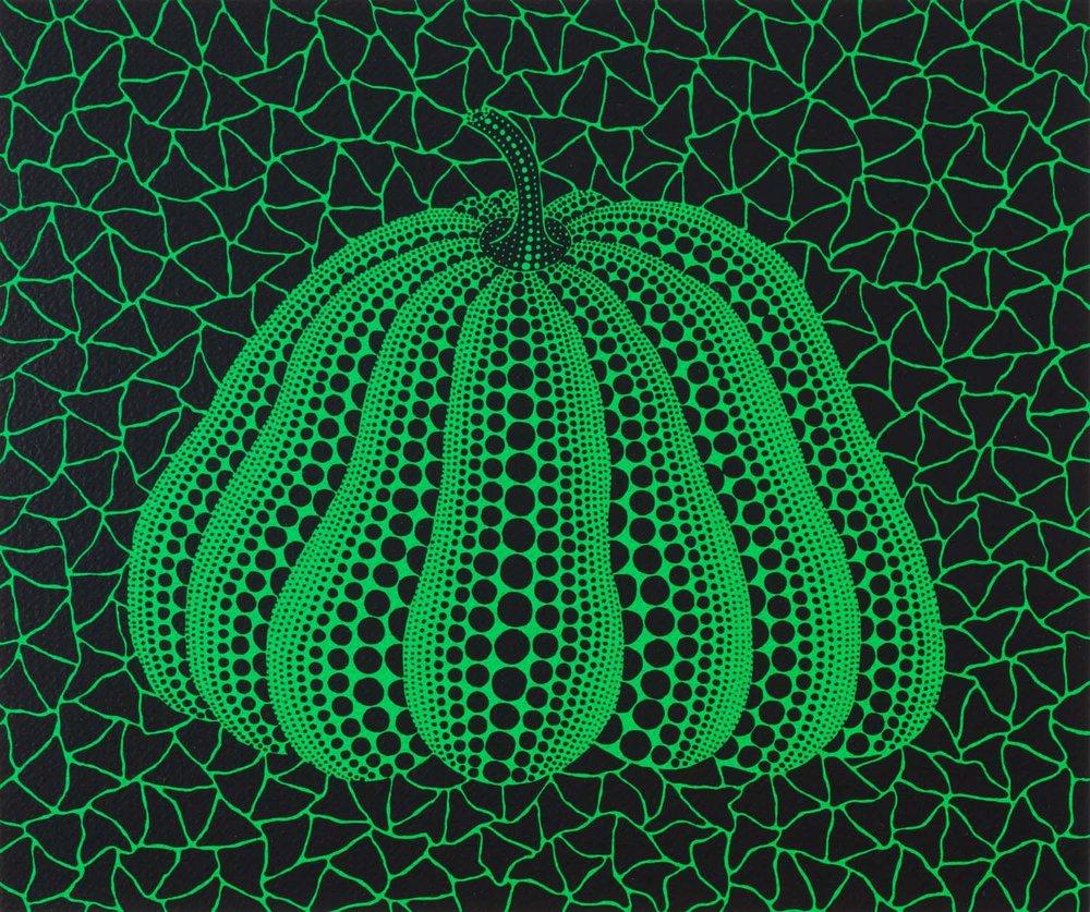 草間彌生 Yayoi KUSAMA〈No.332 南瓜 A Pumpkin GB-D〉