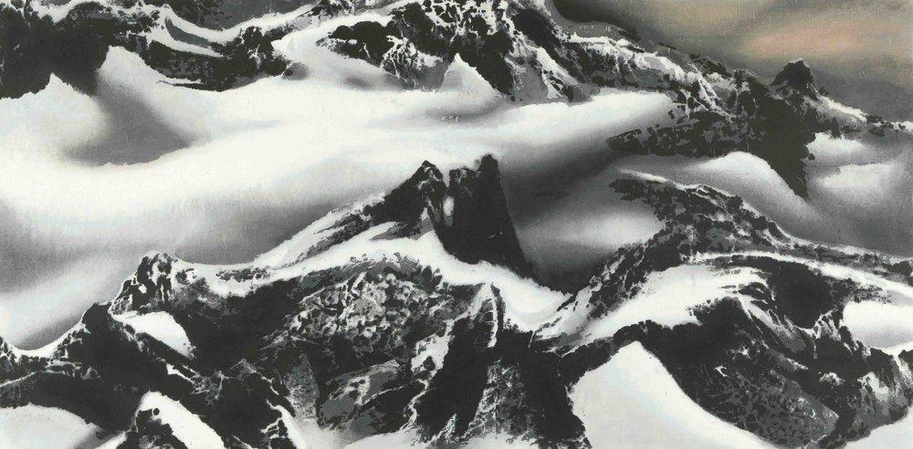 劉國松 LIU Kuo-Sung〈世界屋脊 Roof of the World〉