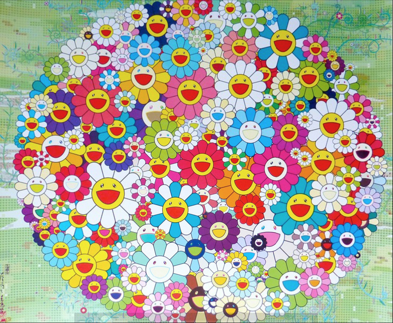 村上隆 Takashi Murakami〈Open Your Hands Wide〉