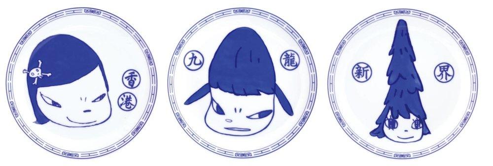 奈良美智 Yoshitomo NARA〈無常人生限量瓷盤 Life is Only One Edition Plates〉