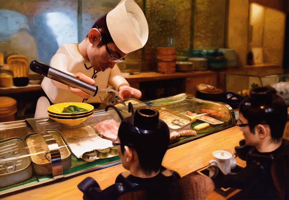 楊博堯 YANG Bo-Yao〈日本料理 Japanese Cuisine〉