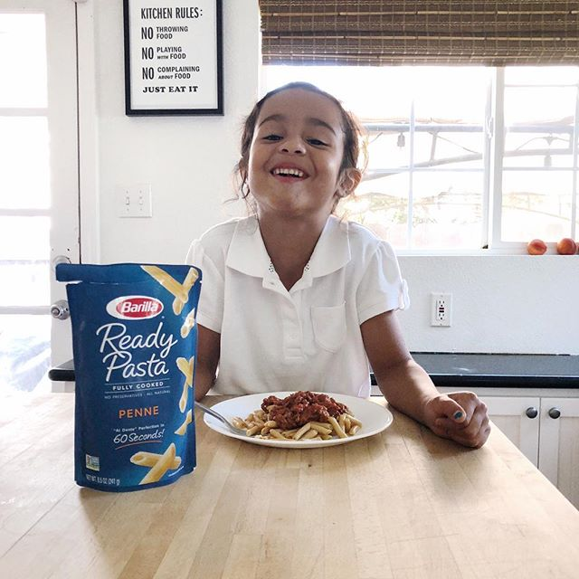 (#ad) After all the school activities, homework and errands I did to today, it's nice to pop this Barilla Ready Pasta in the microwave for only 60 seconds, add my favorite topping and enjoy a nice dinner with my favorite people. I love that this all natural, fully-cooked pasta makes a satisfying meal in just minutes! #ReadyPasta @BarillaUS check out Barilla's Ready pasta products here http://bit.ly/2wreyPv