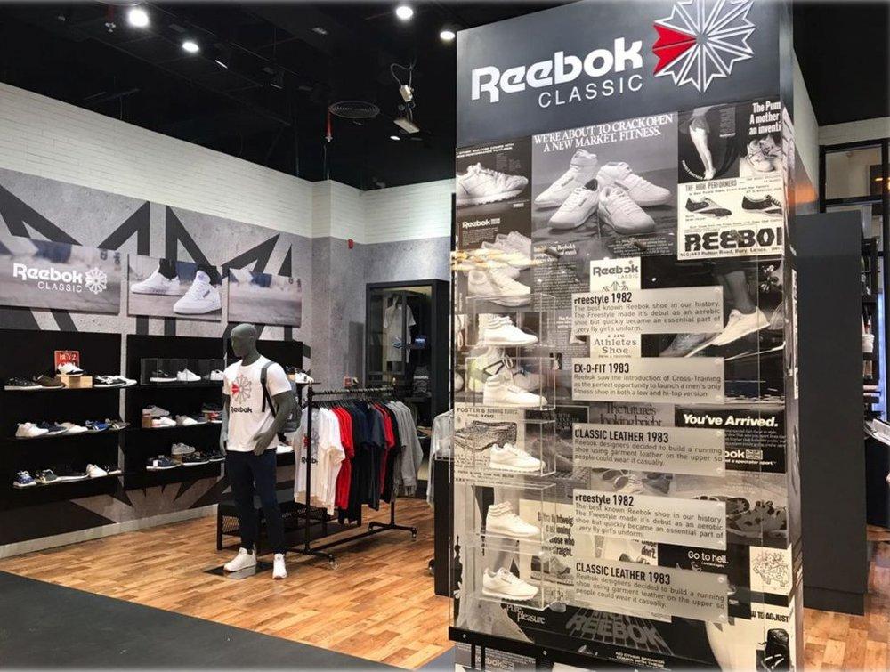 Store opening - Reebok Classics Men