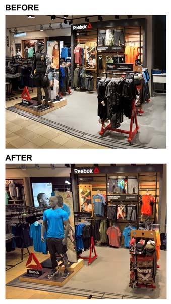 Reebok, Karstadt Sports, Berlin, Germany