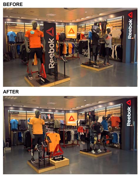 Reebok, Karstadt Sports, Munich, Germany