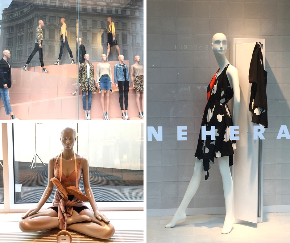 H&M, The Body Studio Selfridges, Nehera