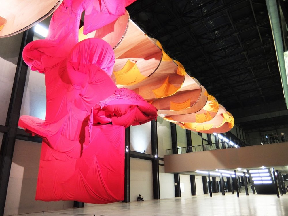 Tate Modern Installation by Richard Tuttle