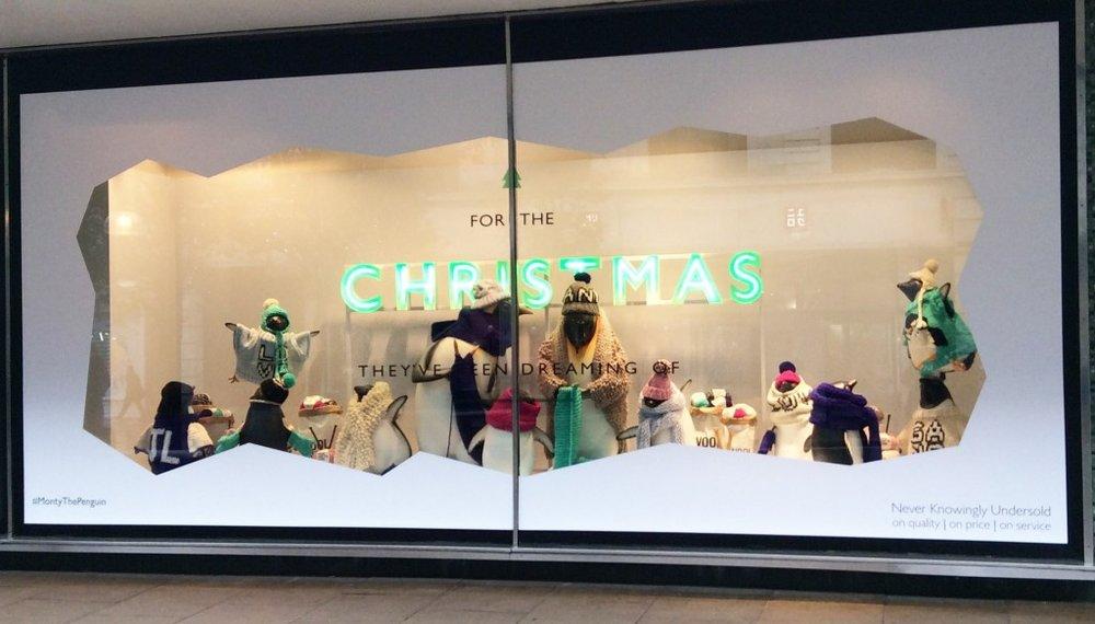 John Lewis Christmas Window