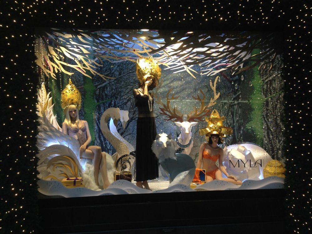Selfridges Christmas Window