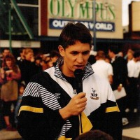 Gary Linekar at Olympus World