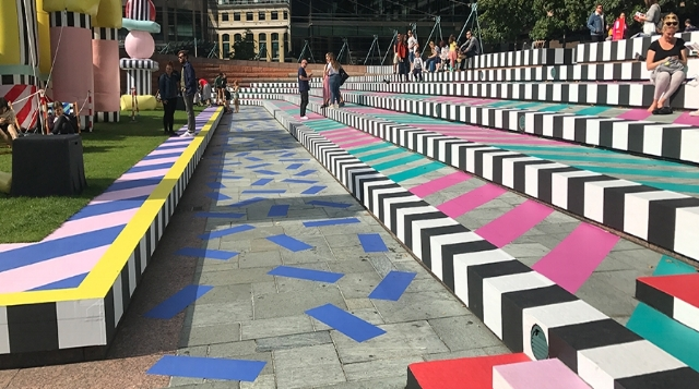 Camille Walala Installation London Design Festival 2017